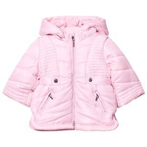 Mayoral Girls Coats and jackets Pink Pink Hooded Puffer Coat
