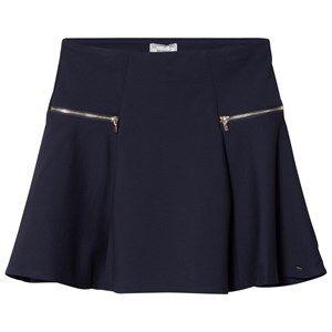 Mayoral Girls Skirts Navy Navy Zip Detail Skirt