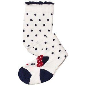 Mayoral Girls Underwear Cream Cream Cat Feet Tights