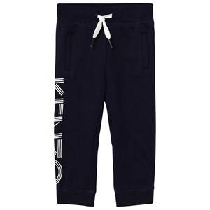 Kenzo Girls Bottoms Navy Navy Branded Sweat Pants