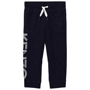 Kenzo Girls Bottoms Navy Navy Branded Sweat Pants