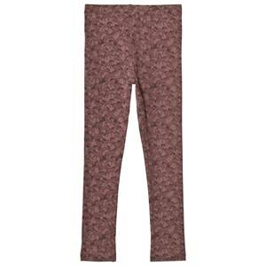 Wheat Girls Bottoms Red Jersey Leggings Dusty Rouge