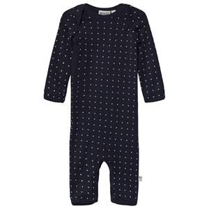 Image of Wheat Girls All in ones Navy Baby One-Piece Slim Navy
