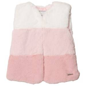 Mayoral Girls Coats and jackets Pink Pink Ombre Faux Fur Gilet