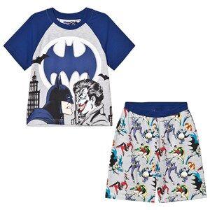 Fabric Flavours Boys Nightwear Grey Grey/Blue Batman Joker Pyjamas