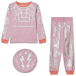 Stella McCartney Kids Girls Nightwear Pink Pink Robot Andrea Pyjamas