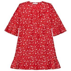 Stella McCartney Kids Girls Dresses Red Red Christmas Print Abbie Dress