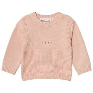 Image of Stella McCartney Kids Girls Jumpers and knitwear Pink Pink Thumper Knit Bunny Jumper