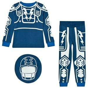 Stella McCartney Kids Boys Nightwear Blue Blue Robot Louie Pyjamas