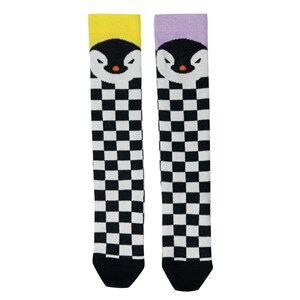 BANG BANG Copenhagen Girls Underwear Black Black/White Penguin Knee Socks