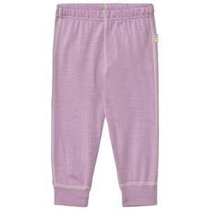 Joha Unisex Bottoms Purple Basic Cuff Leggings Purple