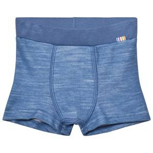 Joha Unisex Baselayers Blue Boxer Shorts Blue