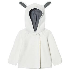 Image of Stella McCartney Kids Girls Jumpers and knitwear Cream Cream Smudge Knit Cardigan