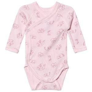 Image of Petit Bateau Girls All in ones Pink Bear Pink Baby Body