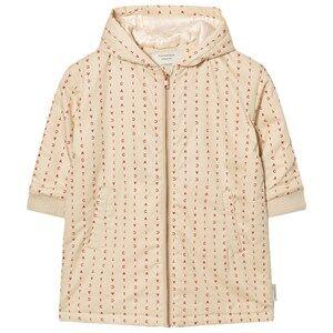 Tinycottons Unisex Coats and jackets Beige Alphabet Soup Oversized Jacket Beige / Red