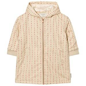 Tinycottons Unisex Coats and jackets Beige Alphabet Soup Oversized Jacket Beige / Red