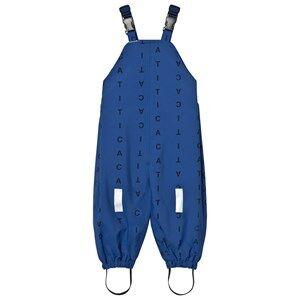 Tinycottons Boys Bottoms Blue Alphabet Soup Snow Pants Blue/Dark Navy