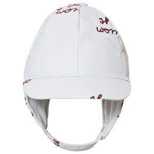 Tinycottons Unisex Headwear Blue Shoo Worries Snow Hat Light Blue/Bordeaux