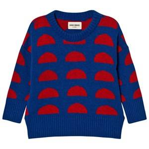 Bobo Choses Unisex Jumpers and knitwear Blue Knitted Jumper Crests
