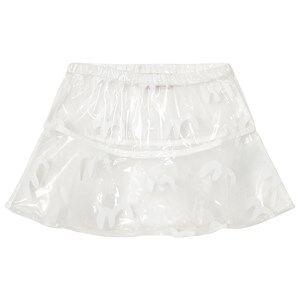Bobo Choses Girls Skirts White Waterproof Skirt Birds