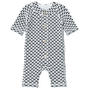 Reima Unisex All in ones Cream Lyhde Onesie Off White