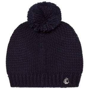 Petit Bateau Unisex Headwear Blue Marine Knit Beanie