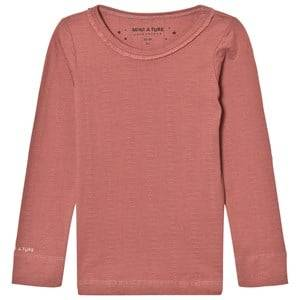 Mini A Ture Girls Tops Pink Elga T-Shirt Withered Rose