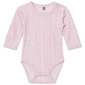 Image of Hust&Claire; Girls All in ones Pink Cable Baby Body Rose