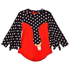 BANG BANG Copenhagen Girls Dresses Red Exclusive Red Drama Queen Spot Swan Dress