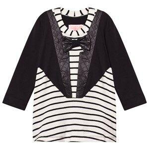 BANG BANG Copenhagen Girls Dresses Black Black/White Tuxedo Nelly Stripe Dress