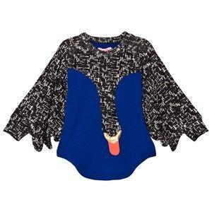BANG BANG Copenhagen Girls Dresses Blue Blue/Black Swan Drama Queen Jersey Dress
