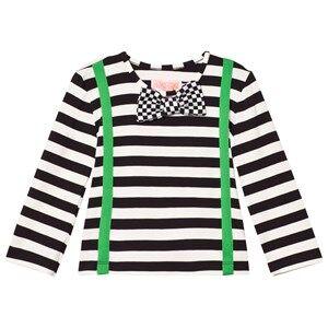 BANG BANG Copenhagen Boys Tops Black Black/White Woody Braces Bow Tie Tee