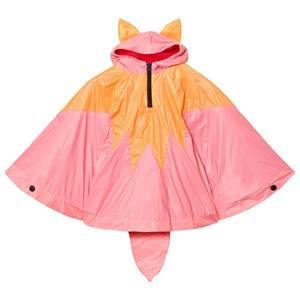 BANG BANG Copenhagen Girls Coats and jackets Orange Orange/Pink Fox Poncho