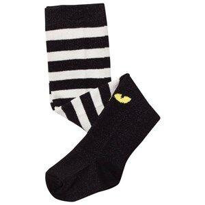 BANG BANG Copenhagen Unisex Underwear Black Black Panther Legs Tights