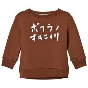 One We Like Unisex Jumpers and knitwear Brown Basic One We Like Sweatshirt Tortoise Shell