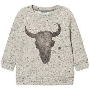 One We Like Unisex Jumpers and knitwear Grey Rag Kranium Sweatshirt Grey Dots