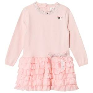 Le Chic Girls Dresses Pink Pink Ruffle Dress