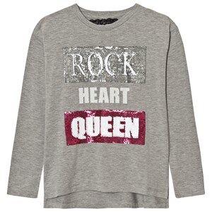 Relish Girls Tops Grey Grey Rock Queen Tee