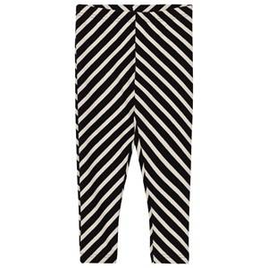 Papu Girls Bottoms Black Black Stripe Leggings