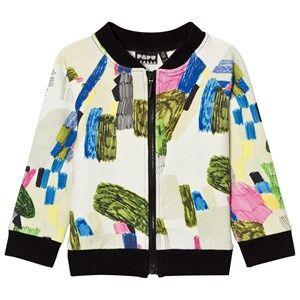 Papu Unisex Coats and jackets White Zip Bomber Jacket Random