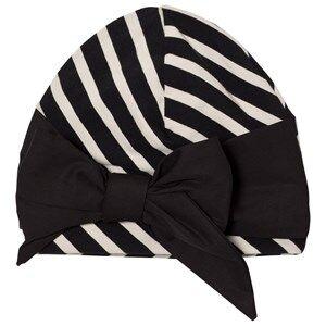 Papu Girls Headwear Black Vieno Bow Beanie