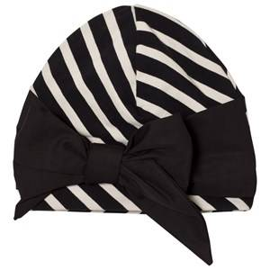 Papu Girls Headwear Black Vieno Bow Beanie