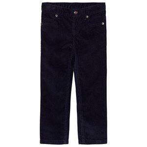 Petit Bateau Unisex Bottoms Blue Pants Marine
