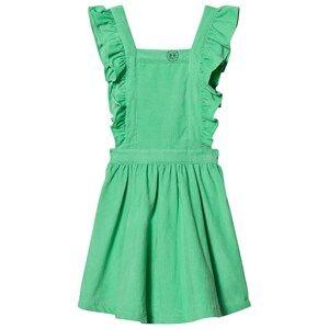 Margherita Kids Girls Dresses Green Green Cord Pinnafore Dress