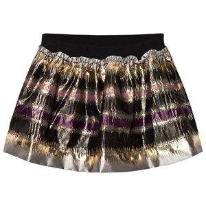 MarMar Copenhagen Girls Skirts Pink Sabrine Skirt Antique Rose Zigzag