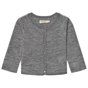 MarMar Copenhagen Unisex Jumpers and knitwear Grey Totti Cardigan Grey Melange