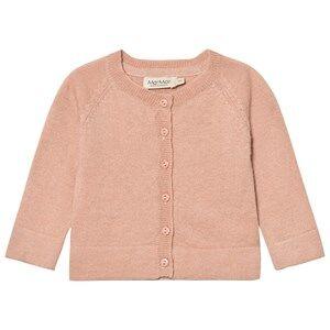 MarMar Copenhagen Unisex Tops Pink Totti Cardigan Dusty Rose