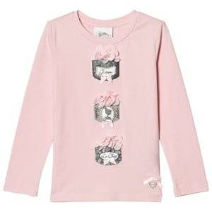 Le Chic Girls Tops Pink Pink Powder Puff Tee
