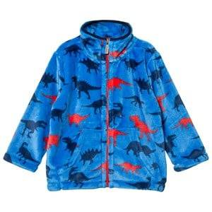 Hatley Boys Fleeces Blue Blue Dinosaur Print Fleece Sweater