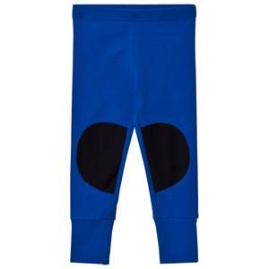 Papu Girls Bottoms Blue Patch Leggings Vivid Blue